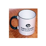 Brighton Securities Green & White Classic Ceramic Mug