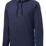 Bruins Hockey Adult Navy Repel Fleece Hooded Pullover