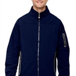 Bruins Hockey Men's Navy  3-Layer Bonded Fleece Soft Shell Jacket