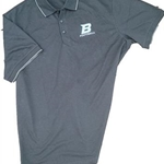 Bomber Football Mens Port Authority Rapid Dry Tipped Polo