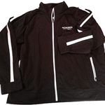 Bomber Football Adult Holloway Chocolate Brown Determination Jacket