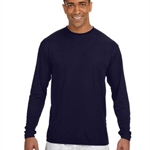 Brighton Track & Field Mens Long Sleeve Cooling Performance Crew