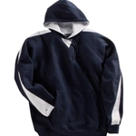 Brighton Track & Field/Cross Country Adult Navy/White Fleece Hoodie