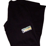 Golden Comets Swim Adult Black Sweat Pants