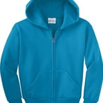 Jefferson Road Elementary Youth Zip Up Hoody