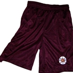 Mendon Basketball Adult Maroon Mesh Shorts