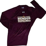 Mendon Basketball Mens Under Armour Long Sleeve Tee