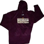 Mendon Basketball Mens Under Armour Fleece Hoody