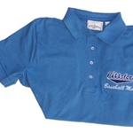 Pittsford Little League Ladies Baseball Mom Golf Shirt