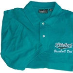Pittsford Little League Men's Baseball Dad Golf Shirt