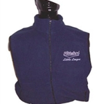 Pittsford Little League Adult Fleece Vest