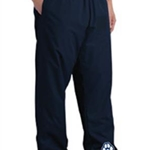 Pittsford Panthers Baseball Adult Navy Wind Pants