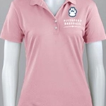 Pittsford Panthers Baseball Ladies Pink Play Dry Mesh Greg Norman Polo