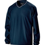 Pittsford Panthers Baseball Adult Navy/White Holloway Bionic Pullover Windshirt