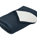 Pittsford Sutherland Baseball Navy Mountain Blanket