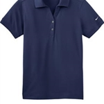 Pittsford Sutherland Baseball Ladies Navy Nike Polo