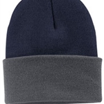 Pittsford Sutherland Baseball Navy/Athletic Oxford Knit Hat