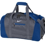 Pittsford Wrestling Nike Dark Grey/Military Blue Duffel Bag