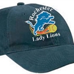 Rochester Lady Lions Brushed Twill Low Profile Cap