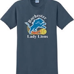 Rochester Lady Lions Adult 100% Cotton Tee