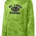St. Louis School Youth Boys Lime Shock Hoody