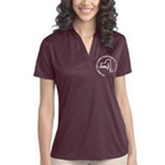 Nurse Practitioner Association Ladies Silk Touch Performance Polo