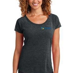 eHealth Technologies Ladies Tri Blend Scoop Tee