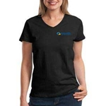 eHealth Technologies Ladies V Neck Tee