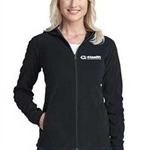 eHealth Technologies Ladies Black MicroFleece Hoodie