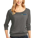 eHealth Technologies Ladies 3/4 Sleeve Raglan Shirt