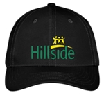 Hillside Service Solutions Adult Black Hat