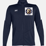 Bruins Hockey Men's Rival Knit Warm-up Jacket