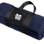Mercy Softball Fleece Blanket with Carrying Strap
