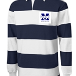 Mercy Softball Adult Long Sleeve Rugby Polo