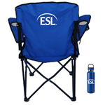 Camp Chair/Water Bottle Combo - PICK UP ONLY!