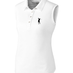 Billy D'Antonio Ladies Cutter and Buck Sleeveless Polo - $65.00