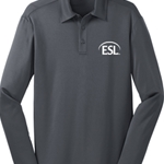 Adult Silk Touch Performance Long Sleeve Polo - $24.00