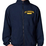St. Josephs Mens Full Zip Fleece Jacket