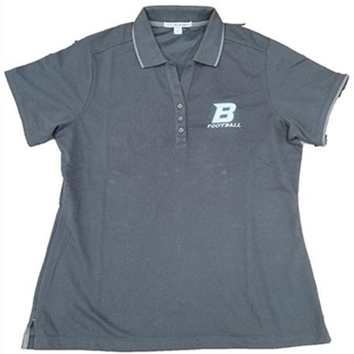 Bomber Football Ladies Port Authority Rapid Dry Tipped Polo