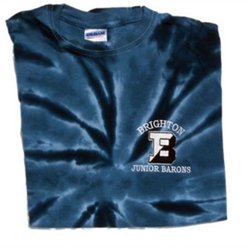 Brighton Junior Barons Adult Navy Tye Dye T