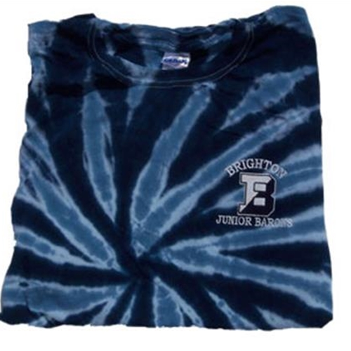 Brighton Junior Barons Youth Navy Tye Dye T