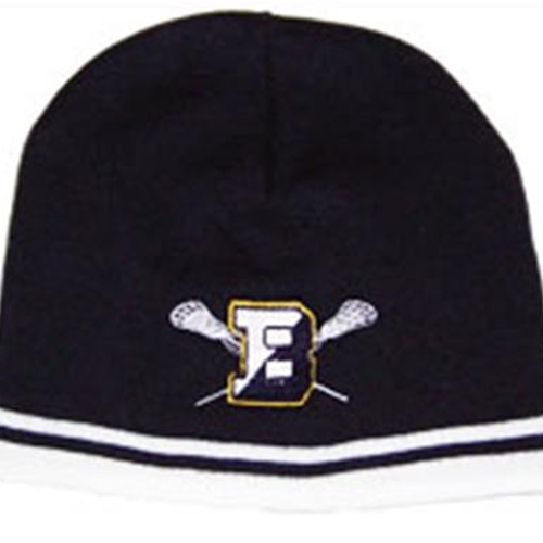 Brighton LAX Adult Navy/White Skull Cap