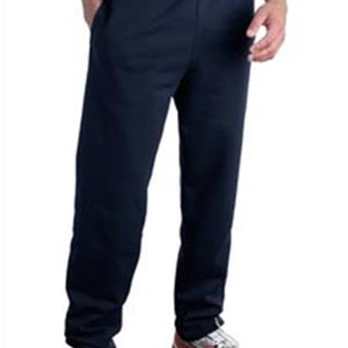 Brighton LAX Adult Navy Sweat Pants Elastic Cuff