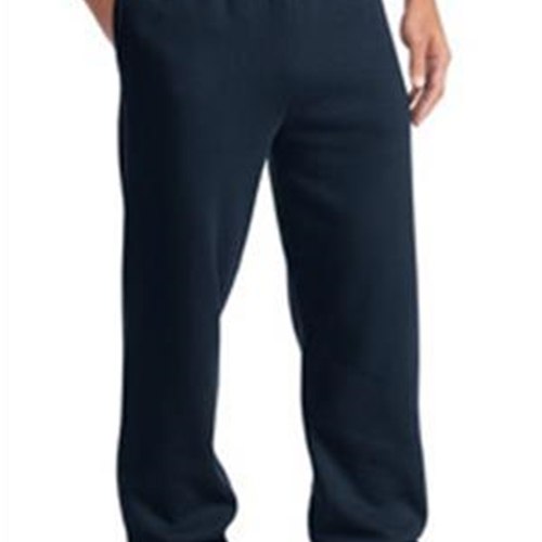 Brighton LAX Adult Navy Open Hem Sweatpants