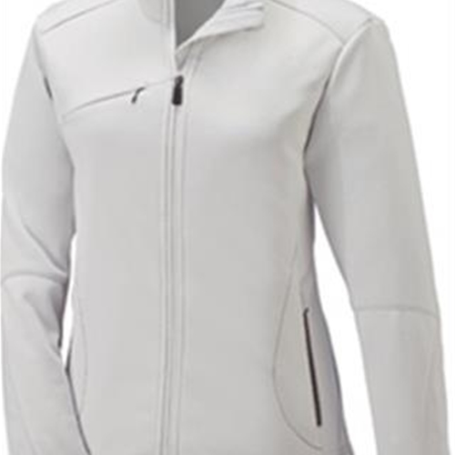 Brighton LAX Ladies White Bonded Fleece Jacket