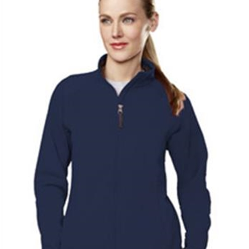 Brighton LAX Ladies Navy/Charcoal Fleece Full Zip Jacket