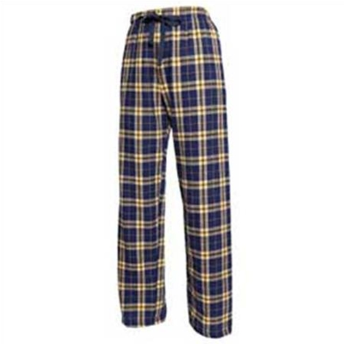 Brighton LAX Youth Navy Gold Flannel Pants