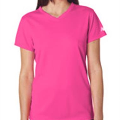 Brighton Track & Field/Cross Country Ladies New Balance Pink Shirt