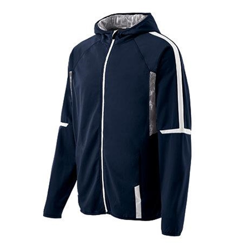 Brighton Track & Field/Cross Country Mens Holloway Navy/White Fortitude Jacket
