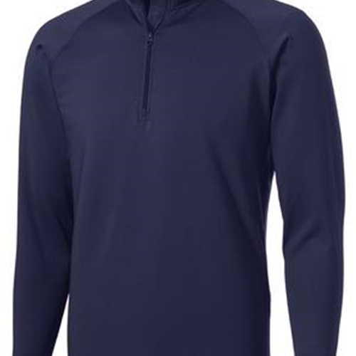 Brighton Track & Field/Cross Country Mens Navy 1/2 Zip Pullover